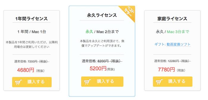 dearmob iphone マネージャーの価格値段料金